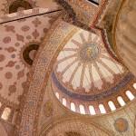 Plafond van de Blauwe Moskee, Istanbul