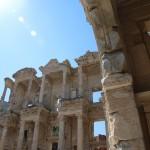 De oude bibliotheek van Efeze, Turkije