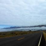 Mist onderweg naar Carmel