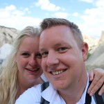 Mandy en Mark in openluchtmuseum Göreme
