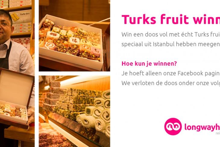 Turks fruit winnen?