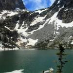 Het hoogste meer in Rocky Mountain National Park