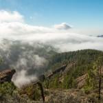 Uitzicht over Pico de las Nieves