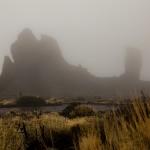 Weinig te zien van de Garcia Rocks