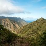 Uitzicht over La Gomera