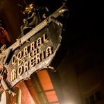 Flamenco optreden in het Corral de la Moreria, Madrid