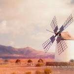 Windmolen op Fuerteventura
