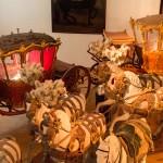 Koetsen in het Wagenburg museum