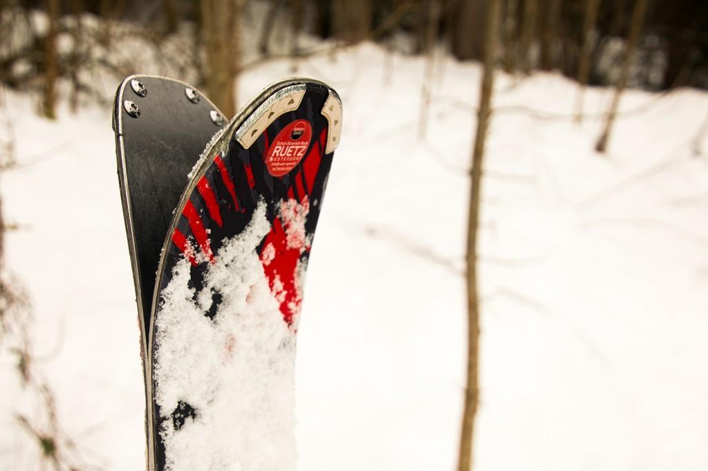 Mijn ski's voor de week