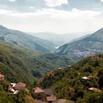 Uitzicht over de vallei bij Galicnik
