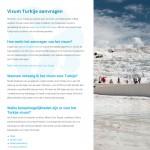De website van TurkijeVisum.nl