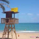 Toren op het strand van Vinaròs