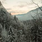 Uitzicht over de vallei