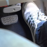 Pedalen in een automaat auto