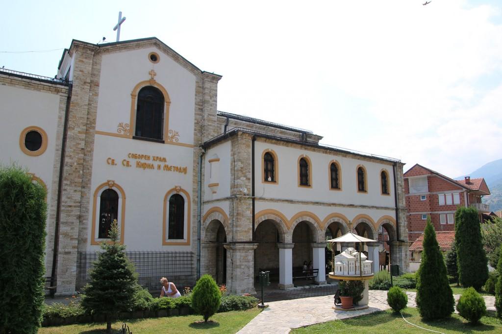 Kerk in Skopje