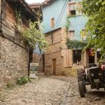 Oud trekker in Cumalikizik, Turkije