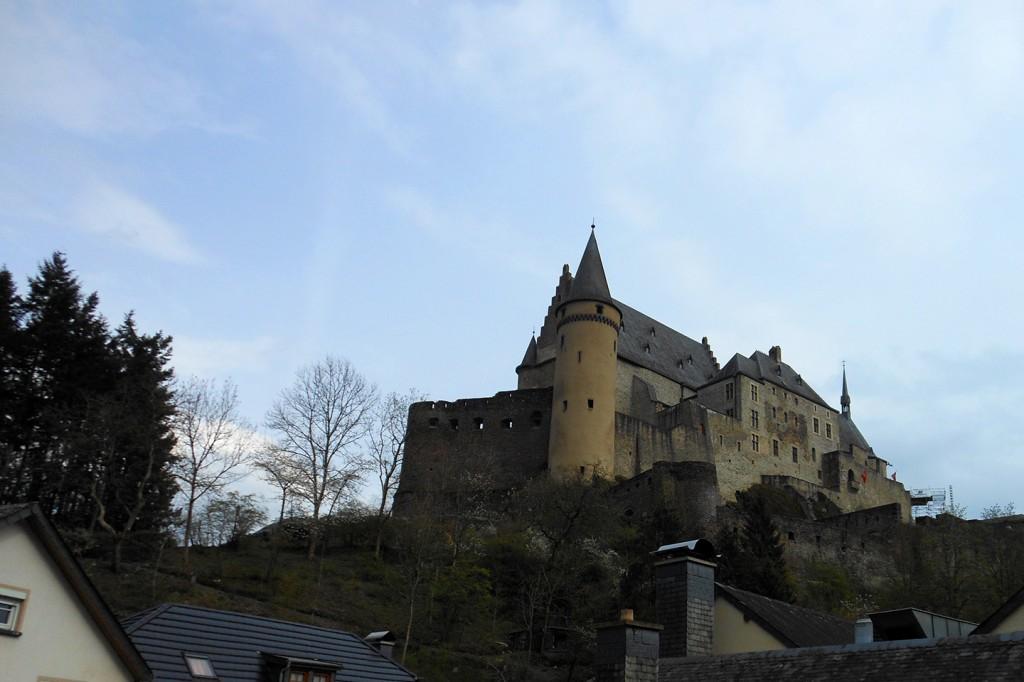 Burcht van Vianden, Luxemburg