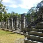 Pilaren in Chichén Itzá