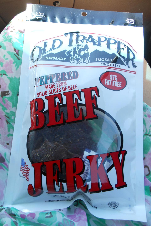 Mmmm beef jerky!