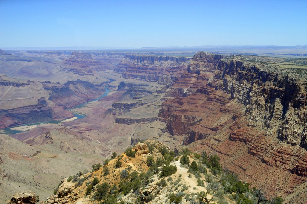 Uitzicht over de Grand Canyon