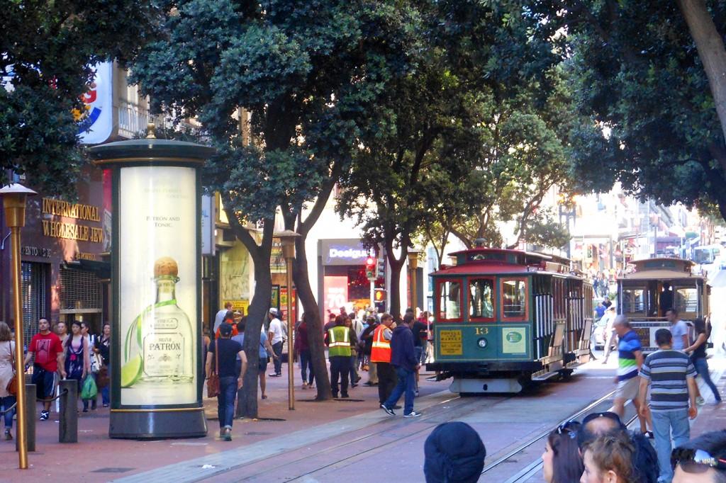 Kabeltrams in San Francisco