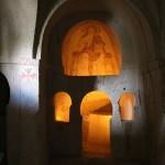 Muurschilderingen in openluchtmuseum Göreme