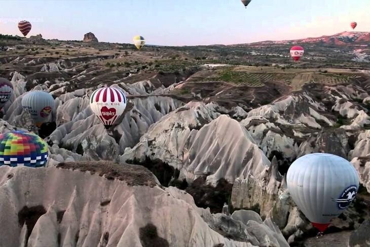 Ballonvaart over Cappadocië