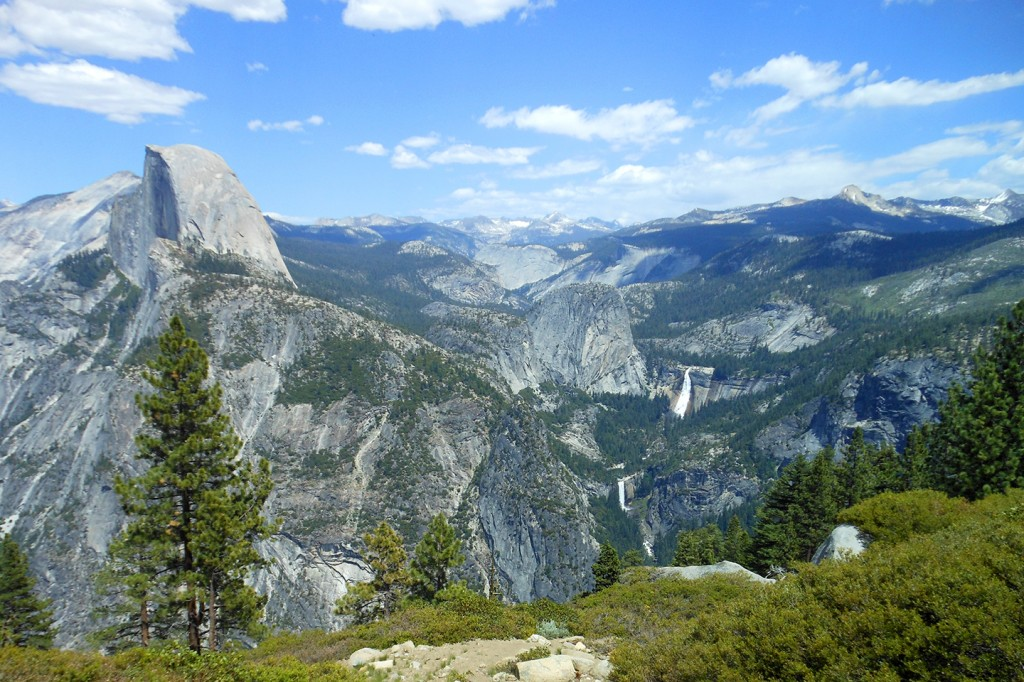 De Half Dome in Yosemite National Park