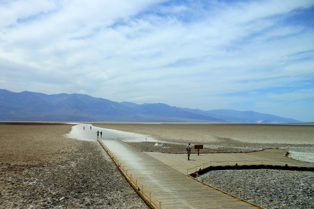 """Bad water"" in Death Valley National Park"