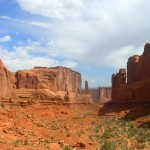 Wandelkloof in Arches National Park