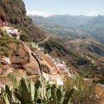 Uitzicht over Artenara
