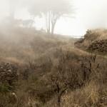 Mist door de wolken
