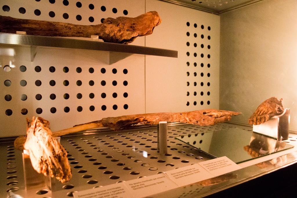 Mummies in het Museo de la Naturaleza y el Hombre