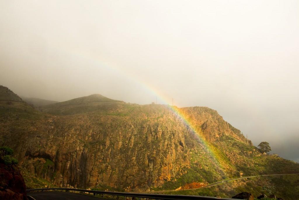 Elke dag zagen we een regenboog