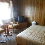 De motelkamers zijn prima voor een overnachting