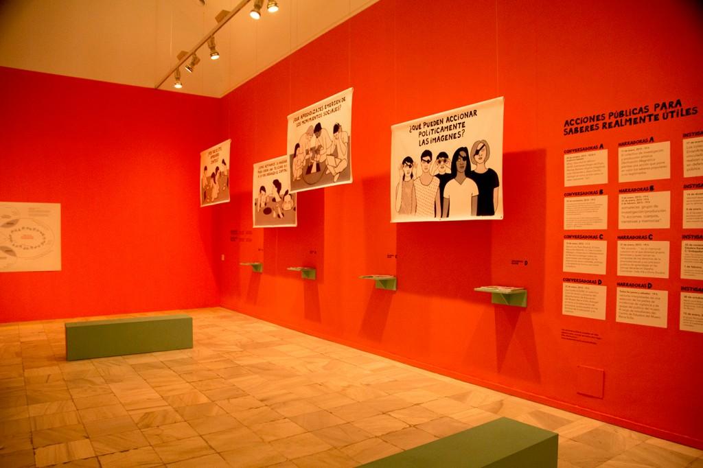 Moderne kunst in het Museo Nacional Centro de Arte Reina Sofia