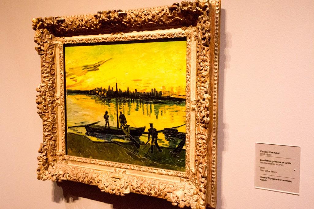 Ook waren er schilderijen van Van Gogh
