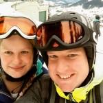 Samen voor het eerst skieën