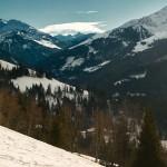 Uitzicht over de bergen van Skiwelt WilderKaiser-Brixental
