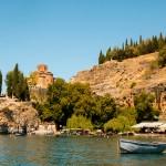 Twee van de fraaie kerken die je in Ohrid kunt vinden