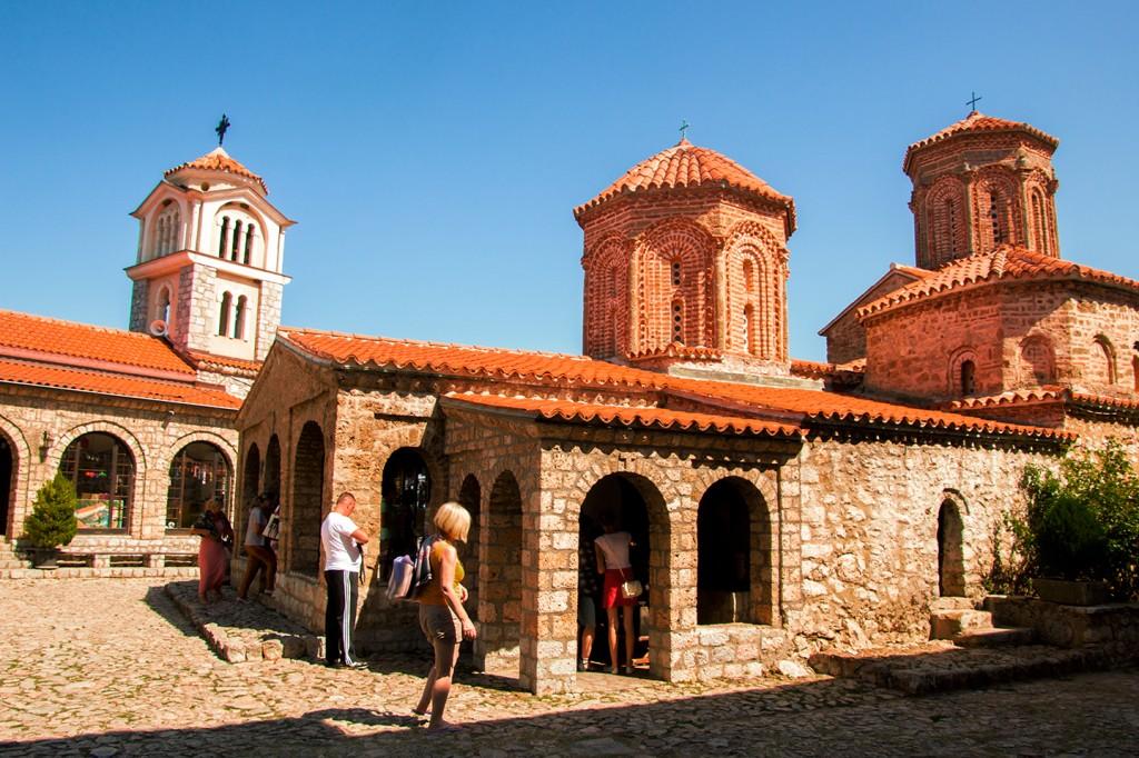 Het klooster van Sveti Naum