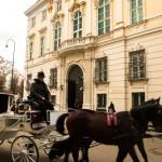 Met een koets door Wenen