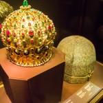 Gouden kroon in de schatkamer