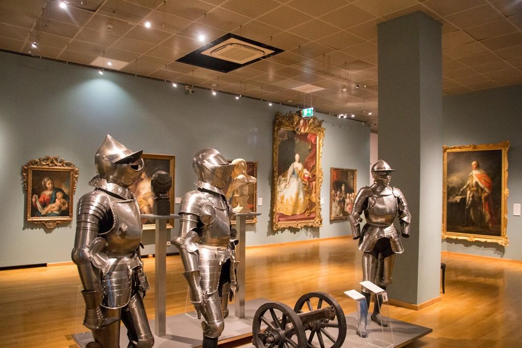 Ridder harnassen in het Wien museum