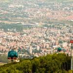 Met de kabelbaan naar boven voor een prachtig uitzicht over Skopje