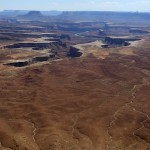Enorme vergezichten in Canyonlands