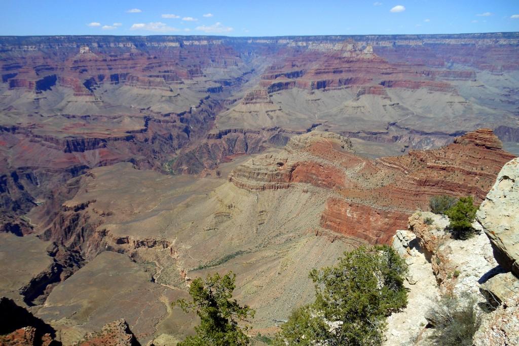 Nog zo'n bekende bezienswaardigheid, de Grand Canyon