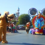De grote parade in Disneyland