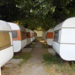 Gezelligheid op de camping in Ohrid, Macedonië