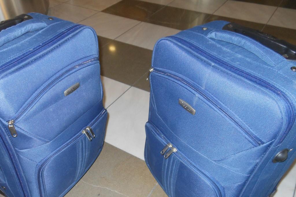 Met twee kleine koffertjes gingen we rondreizen